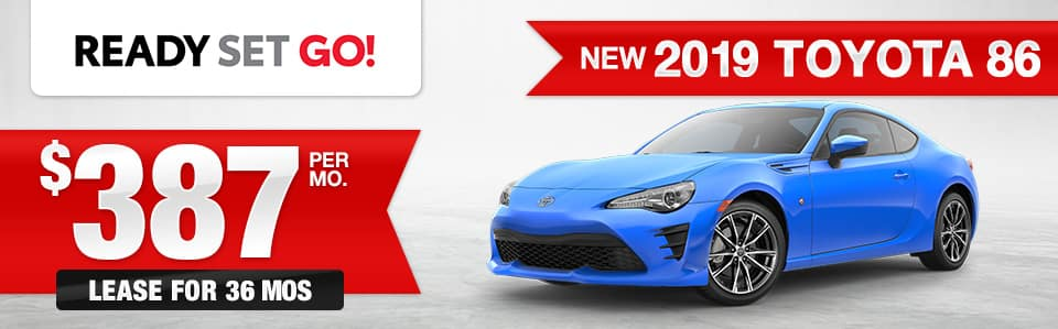 New 2019 86 Lease Special