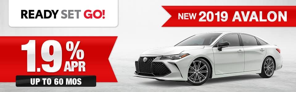 New 2019 Toyota Avalon Finance Special
