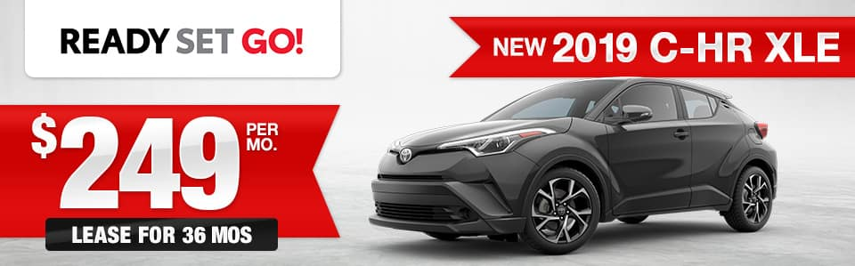 New 2019 Toyota C-HR Lease Special