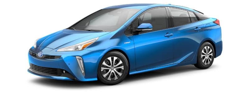 2019 Toyota Prius LE AWD-e Trim Features & Options
