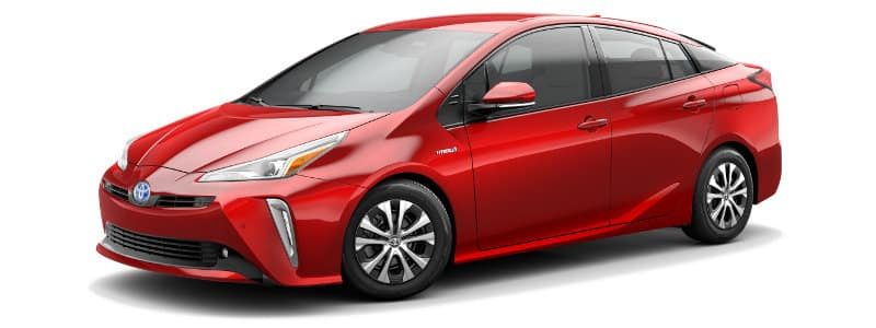 2019 Toyota Prius XLE AWD Trim Features & Options