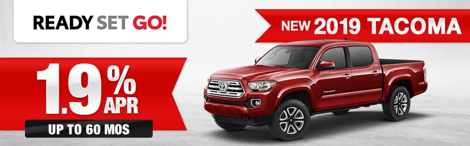 New 2019 Toyota Tacoma Finance Special