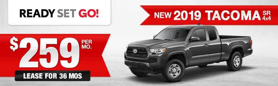 New 2019 Toyota Tacoma Lease Special