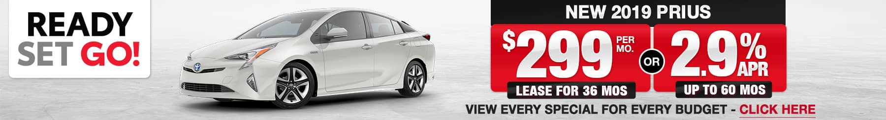 2019 Prius Lease or Finance Offers