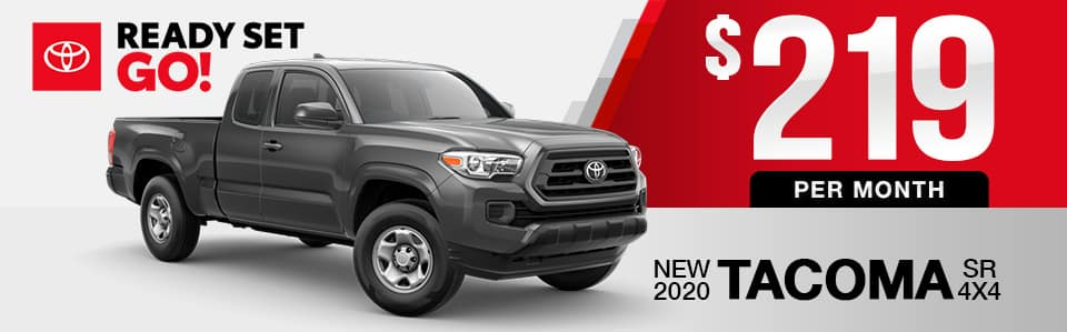 New 2020 Toyota Tacoma Lease Special