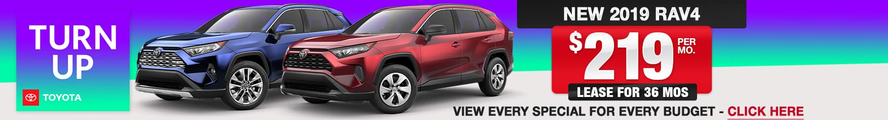2019 RAV4 Lease or Finance Offers