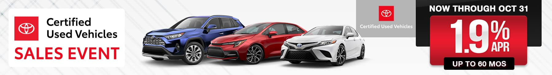 Pre-Owned Certified Toyota Specials