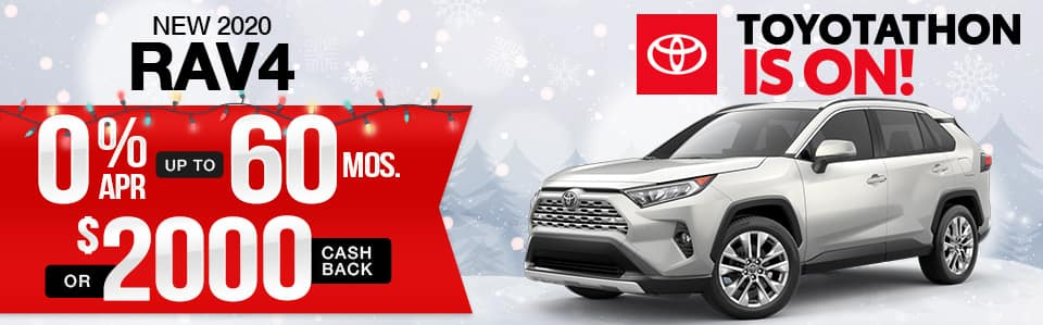 New 2020 Toyota RAV4 Finance Special