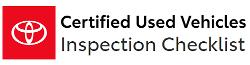Toyota Certification Checklist