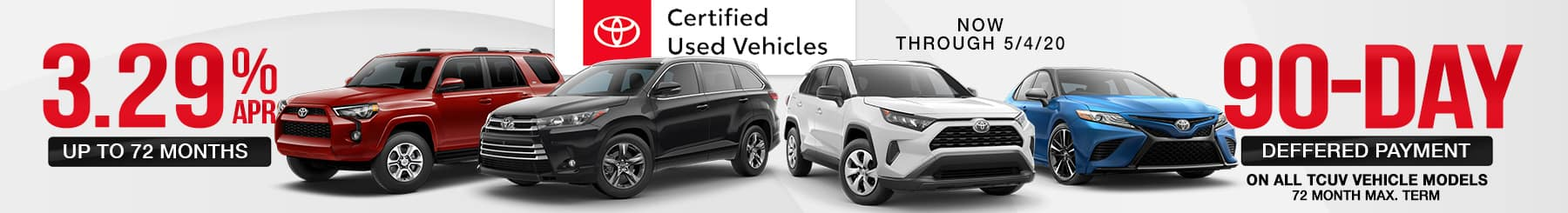 Certified Toyota Deferred Payment Program