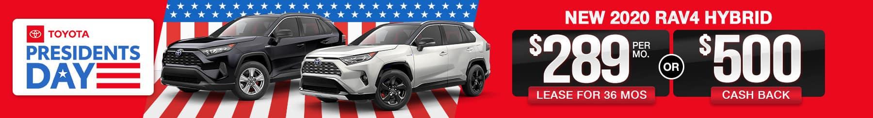 Best Toyota RAV4 Hybrid For Sale