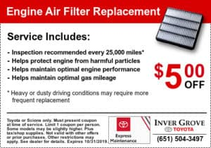 coupon-toyota-engine-air-filter