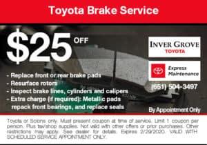 coupon-toyota-brake-service-25-off