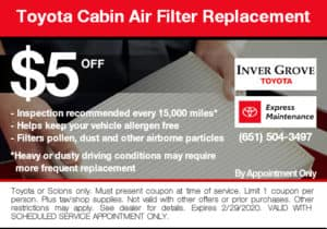 coupon-toyota-cabin-air-filter-replacement
