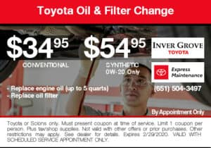 coupon-toyota-oil-filter-change