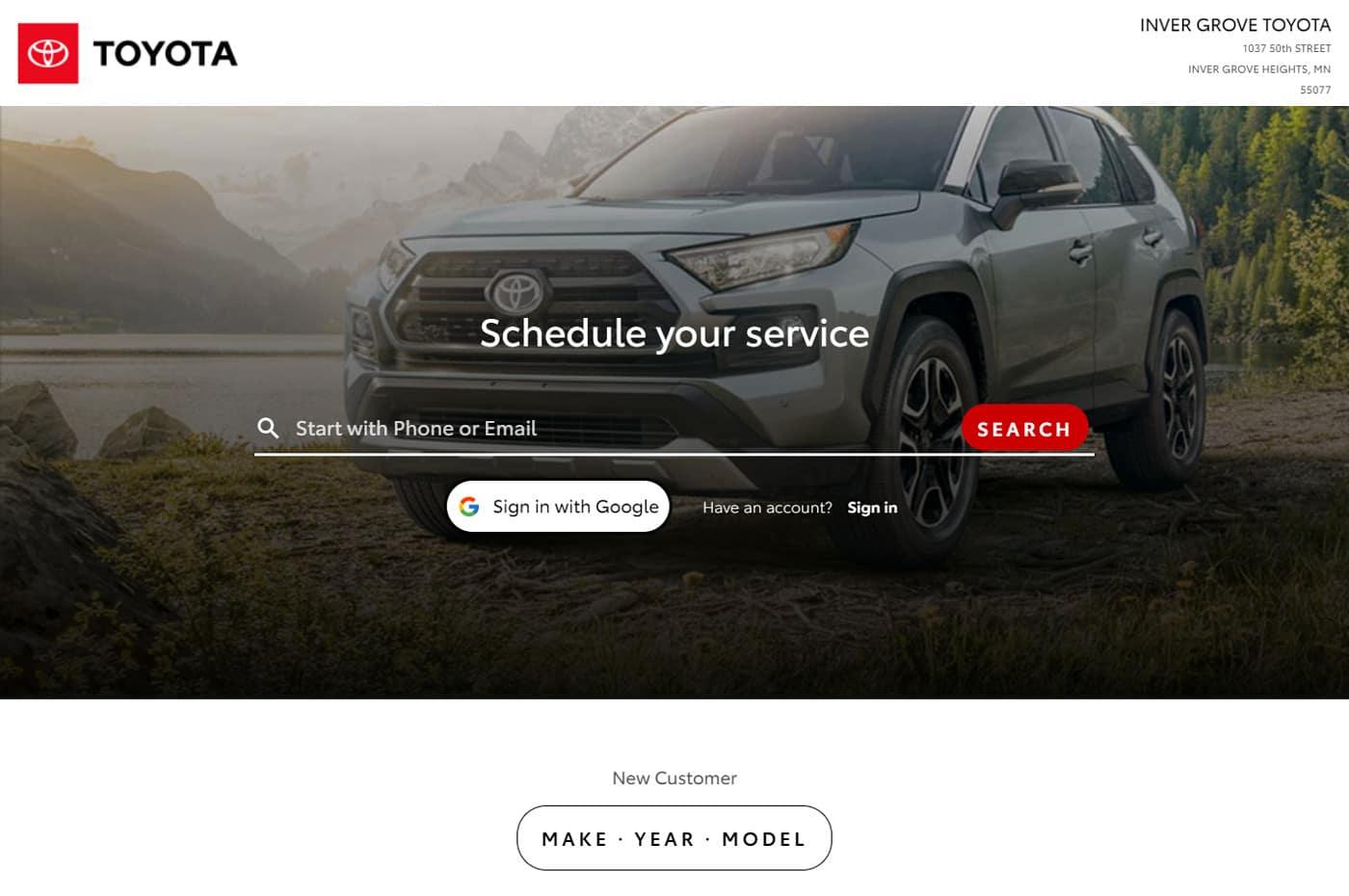 schedule-toyota-service