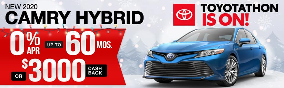New 2020 Toyota Camry Hybrid Finance Special