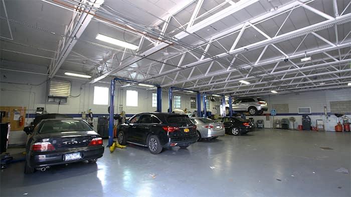 Island Acura service center
