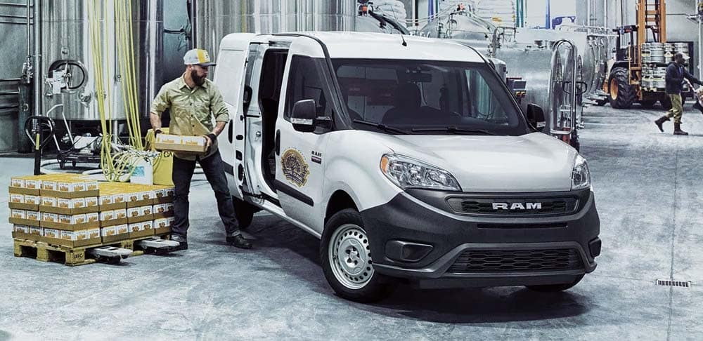 2019 Ram Promaster City Parked