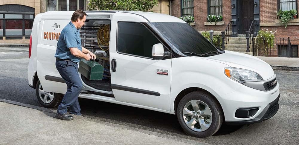 2019 Ram Promaster City Door Open