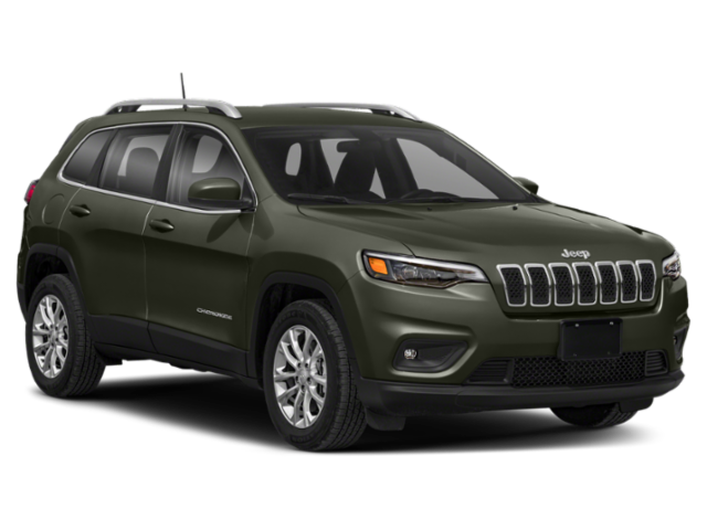 Green 2020 Jeep Cherokee