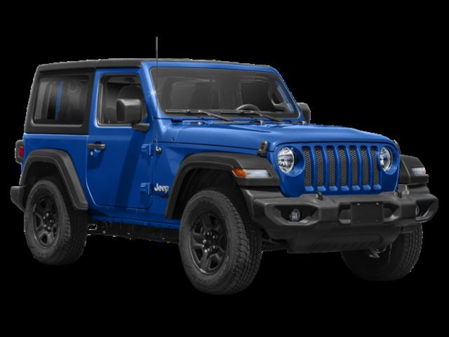 Blue 2020 Jeep Wrangler Sport