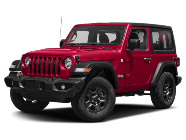 Red 2020 Jeep Wrangler Rubicon