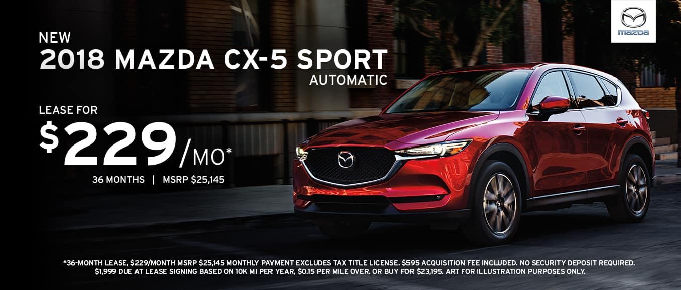 2018 cx5 sport automatic