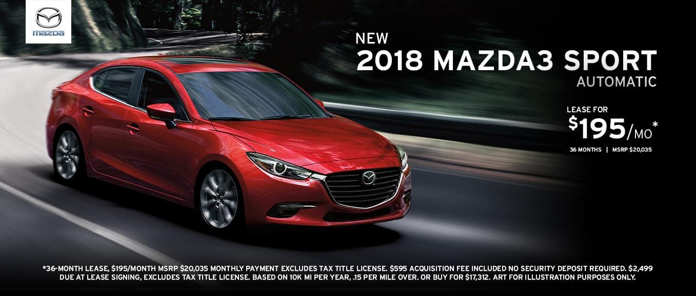 2018 Mazda3 Sport Automatic