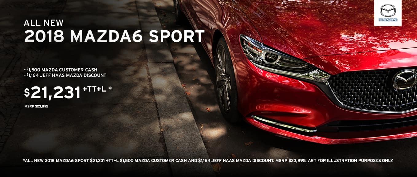 2018 Mazda6 sport manual