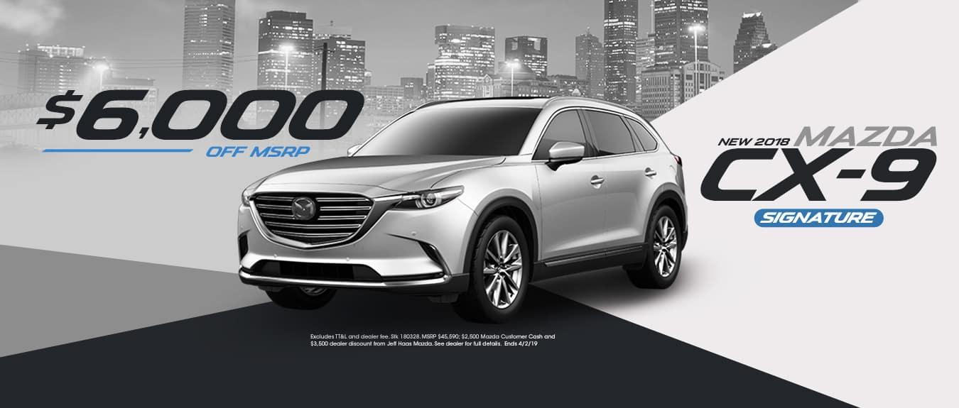 Mazda CX-9 Sale