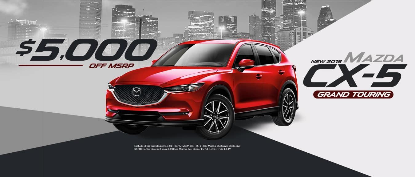 2018 Mazda CX-5 Sale
