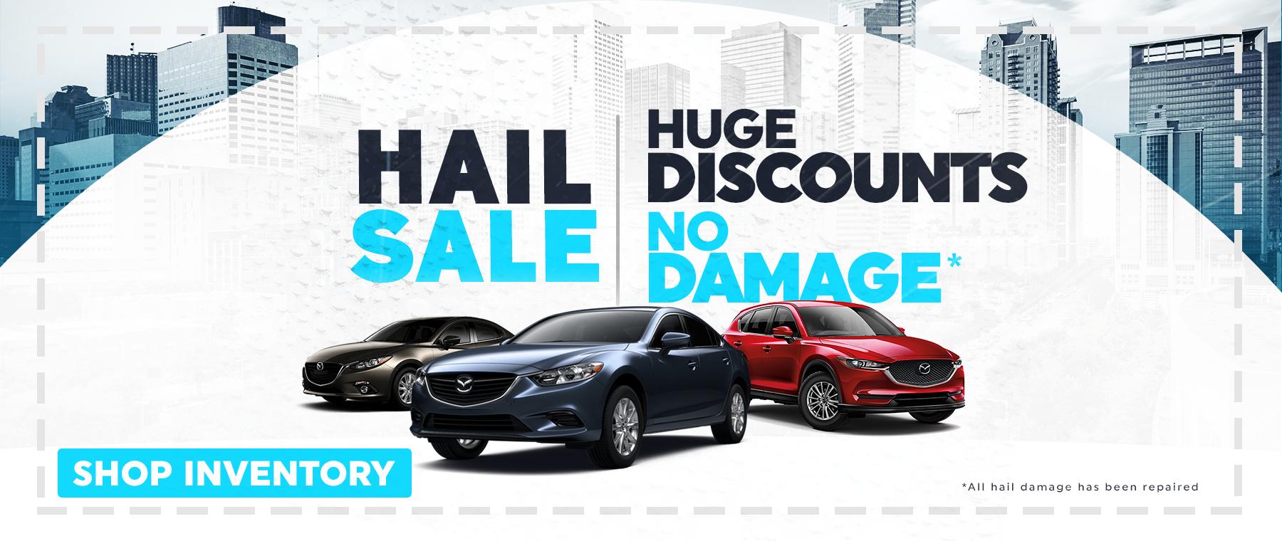 Hail Sale at Jeff Haas Mazda