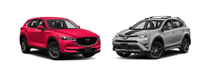 Mazda CX-5 vs RAV 4
