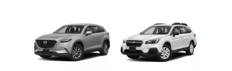 Cx-9 vs Subaru Outback