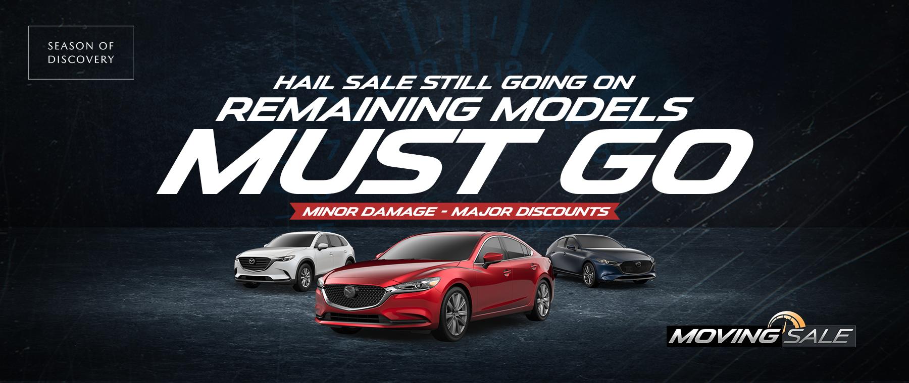 Hail Savings at Jeff Haas Mazda