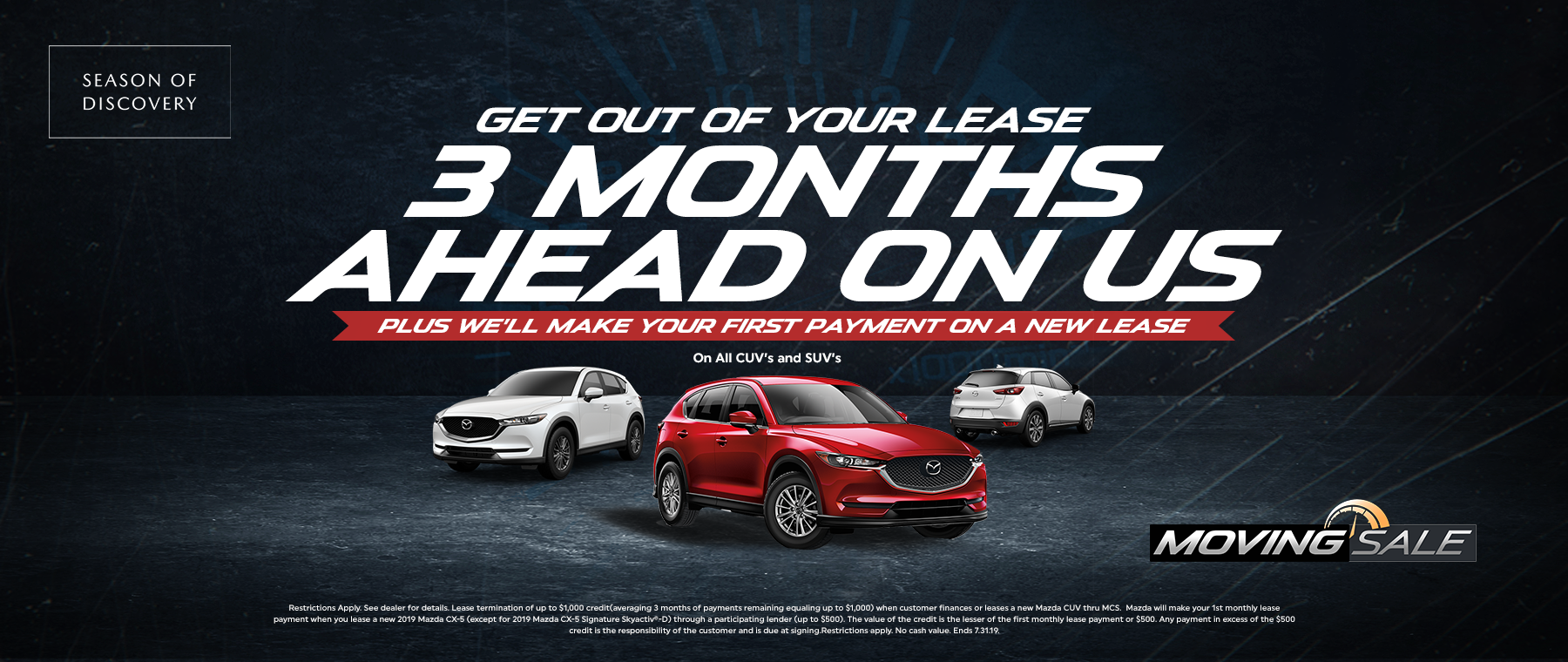 Moving Sale at Jeff Haas Mazda