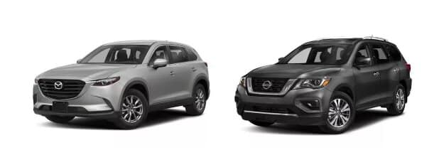 CX-9 vs Nissan Pathfinder