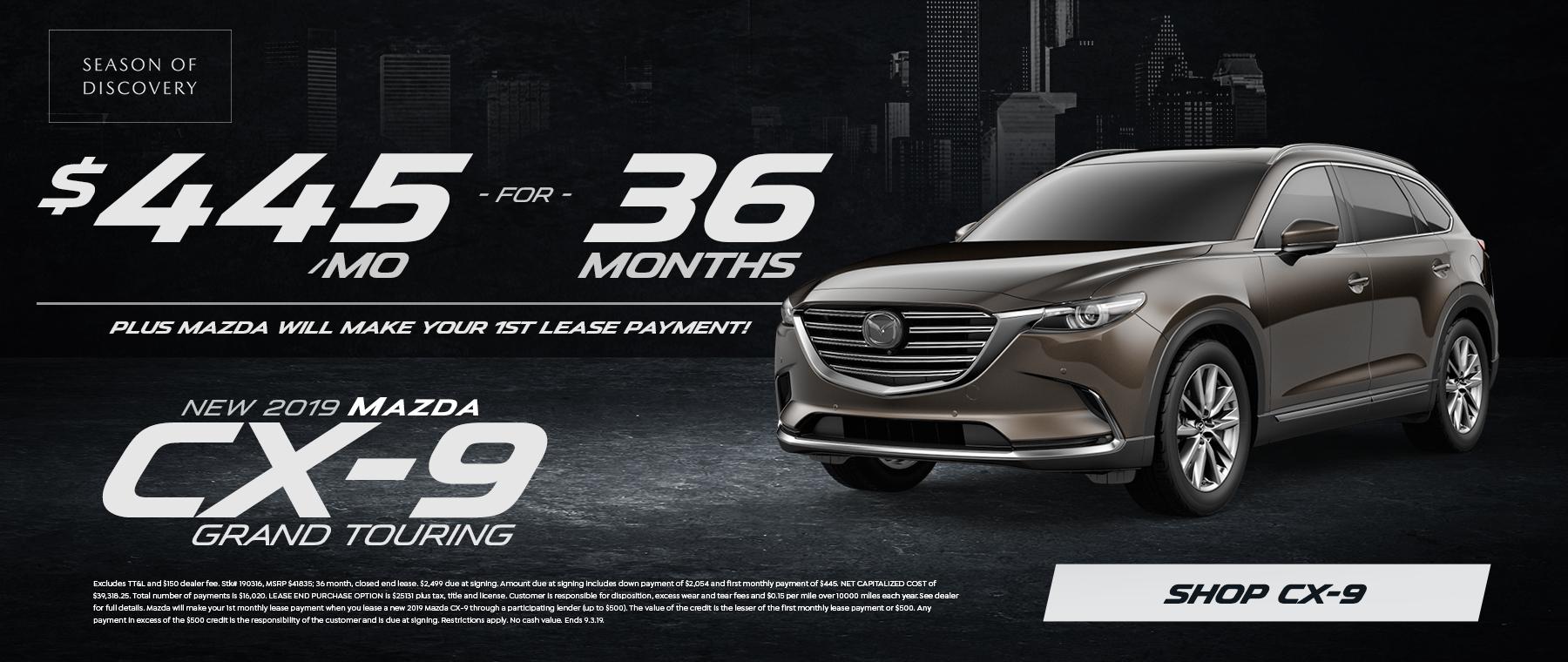 2019 CX-9 Sale in Houston, TX