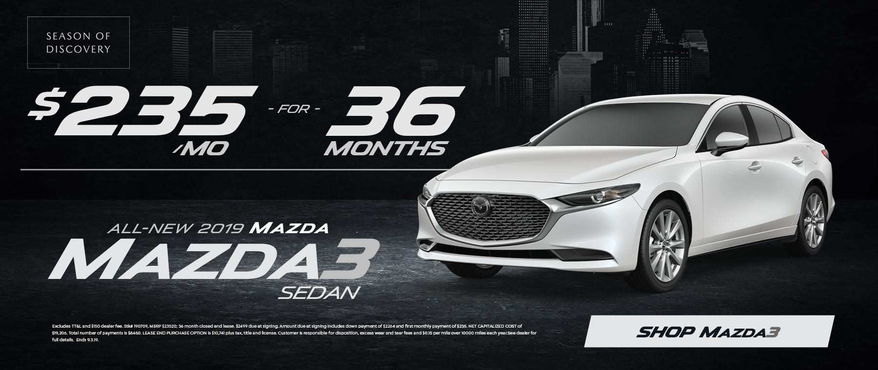 2019 Mazda 3 Sale