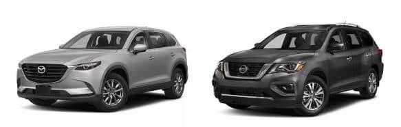 Mazda CX-9 vs Nissan Pathfinder