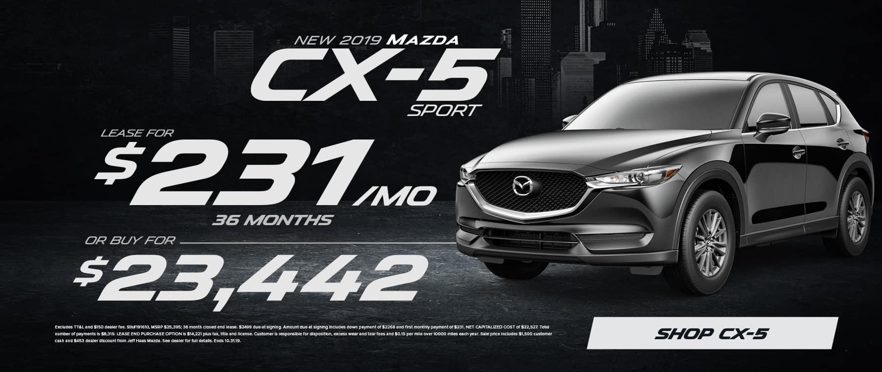2019 Mazda CX-5 Sale in Houston, TX