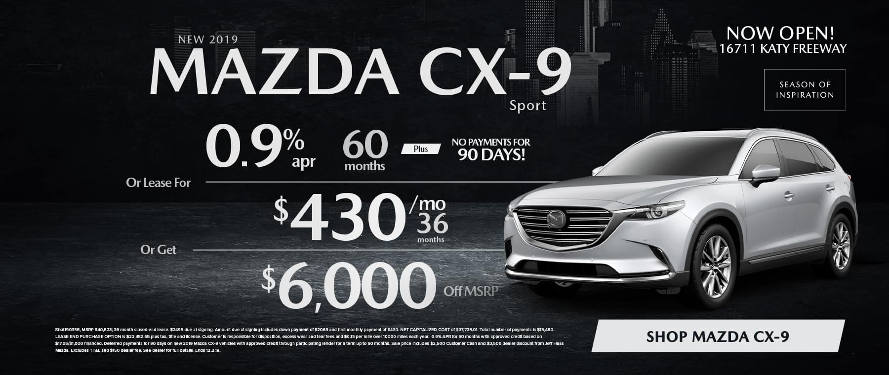 CX-9 Sale in Houston, TX