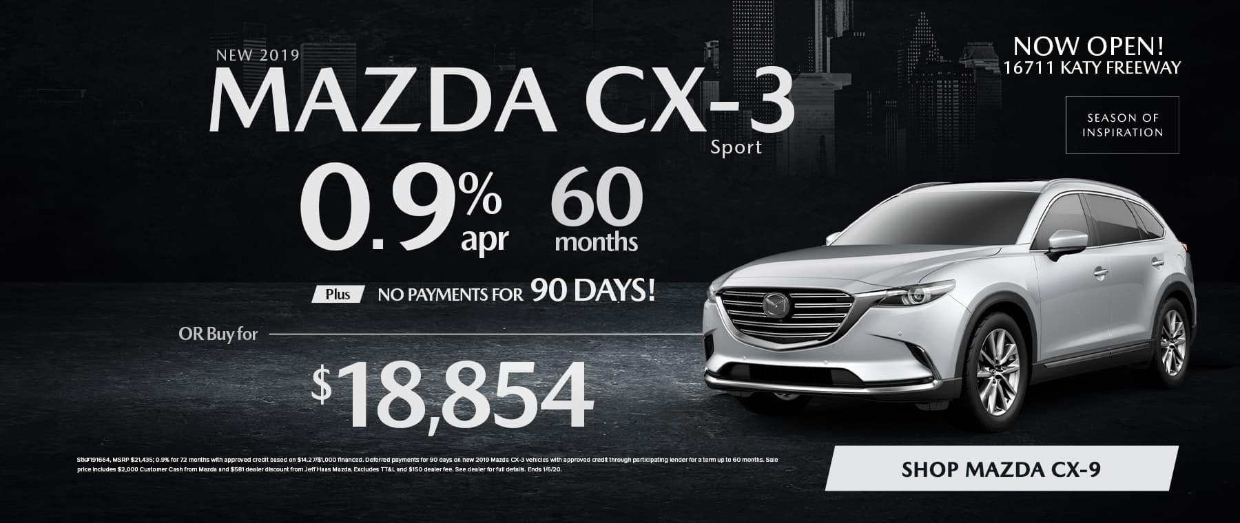 CX3 Sale in Houston, TX
