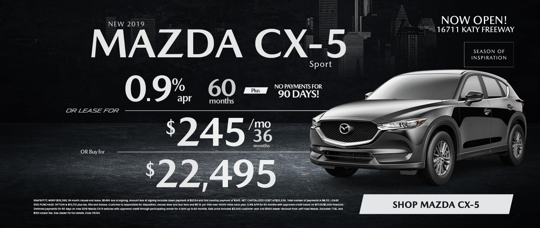CX5 Sale in Houston, TX