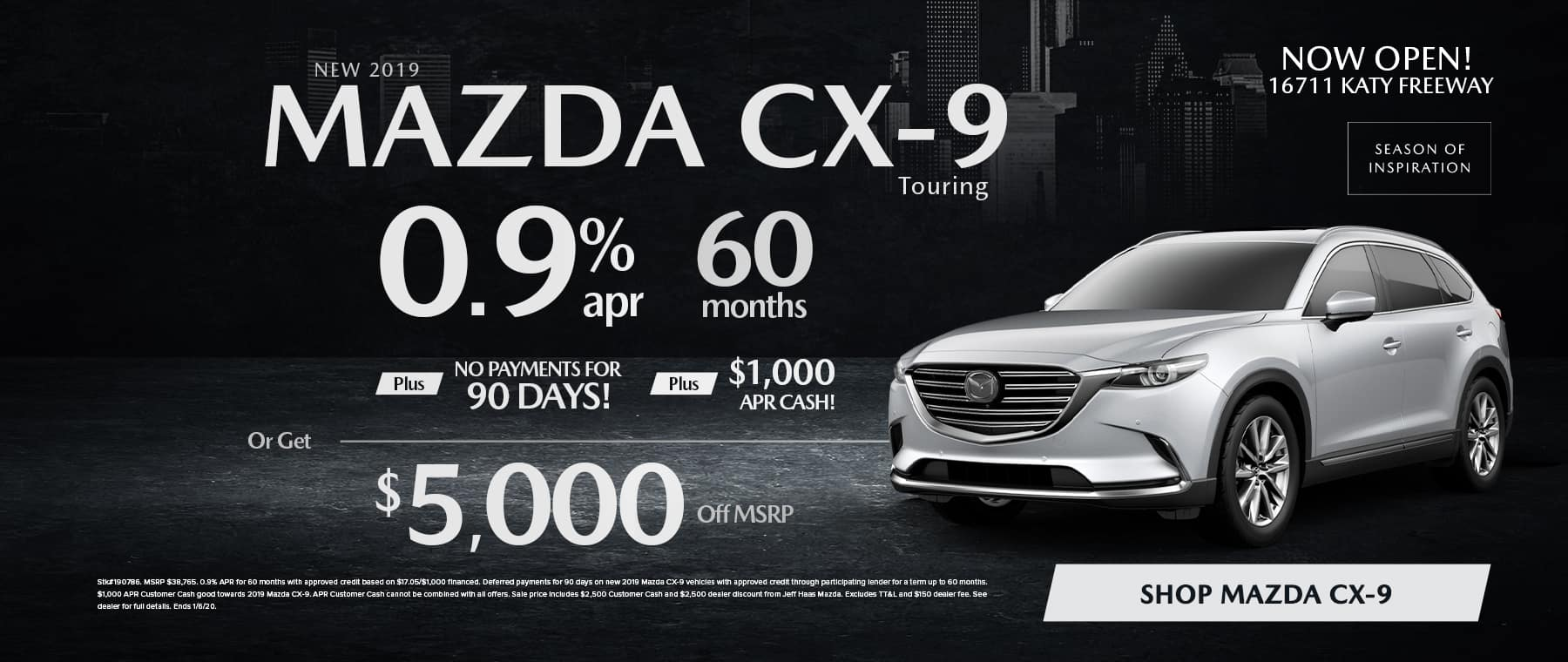 CX9 Sale in Houston, TX