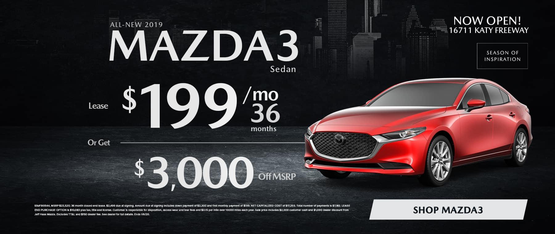 Mazda3 Sale in Houston, TX