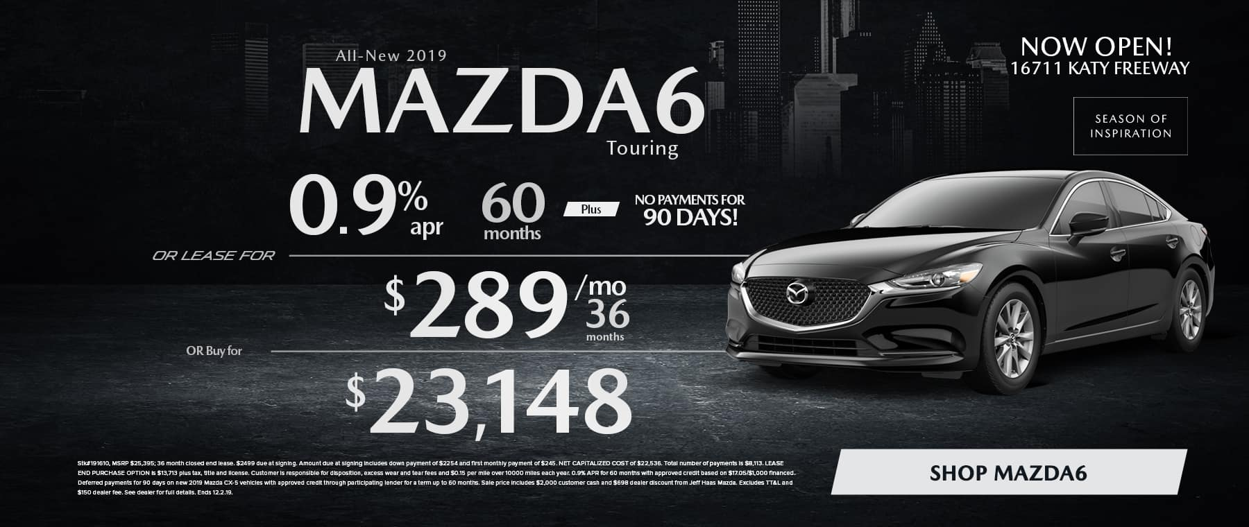 Mazda6 Sale in Houston, TX