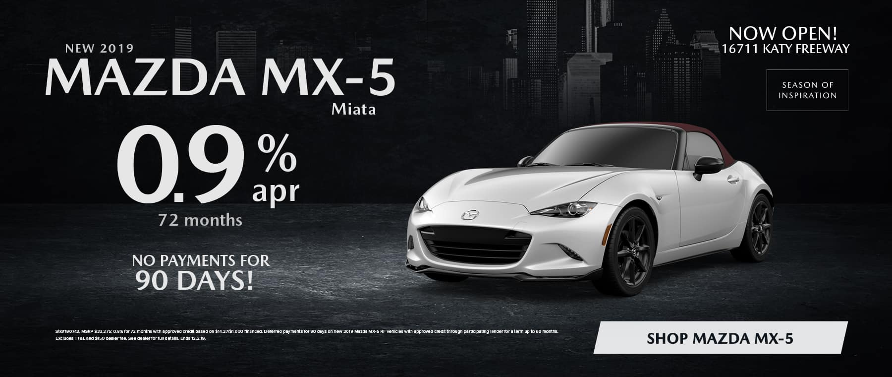 Miata MX-5 Sale in Houston, TX