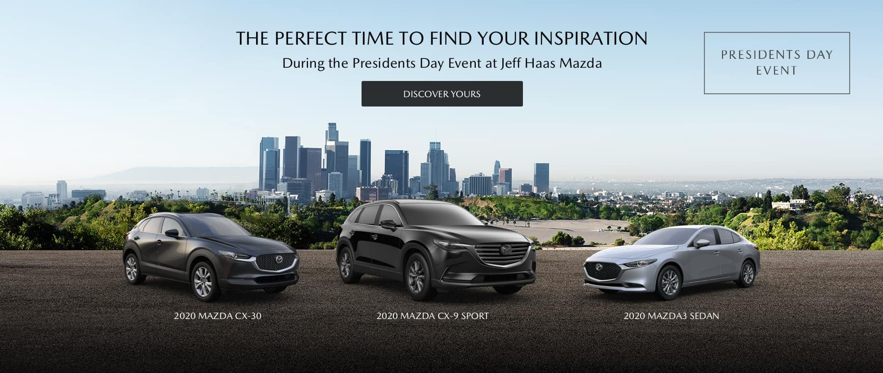 Presidents Day Sales Event at Jeff Haas Mazda in Houston TX
